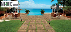 Thick Outdoor Porcelain Tile Paving Systems