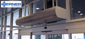 Air Curtains: Energy Savings & Occupant Comfort