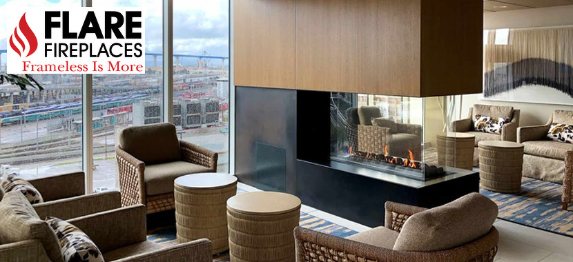 Modern Direct Vent Fireplaces for Contemporary Designs